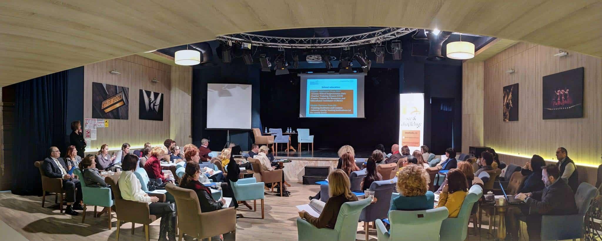 Lansarea în România a Programului pentru educaţie finanţat din fonduri SEE