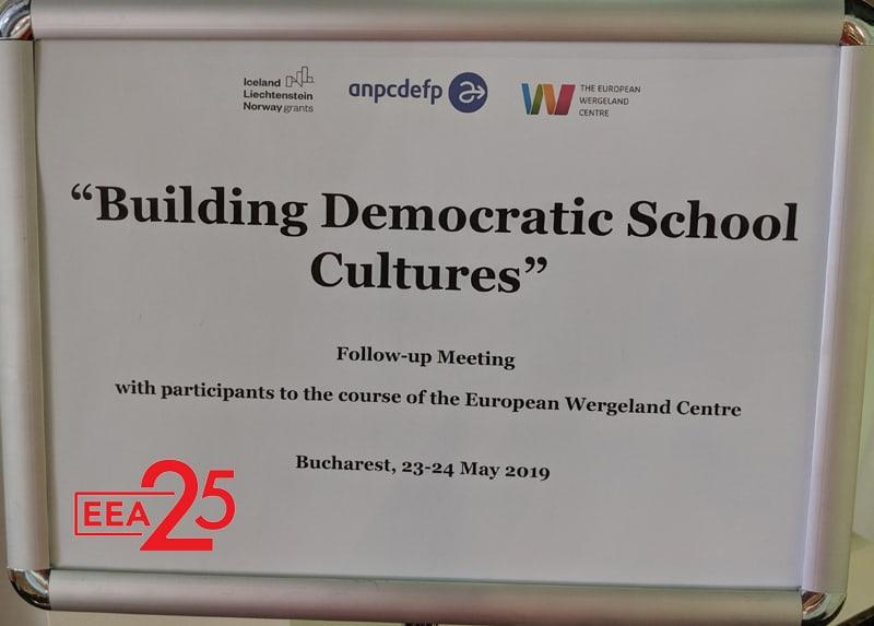 Construim o cultură democratică în școală