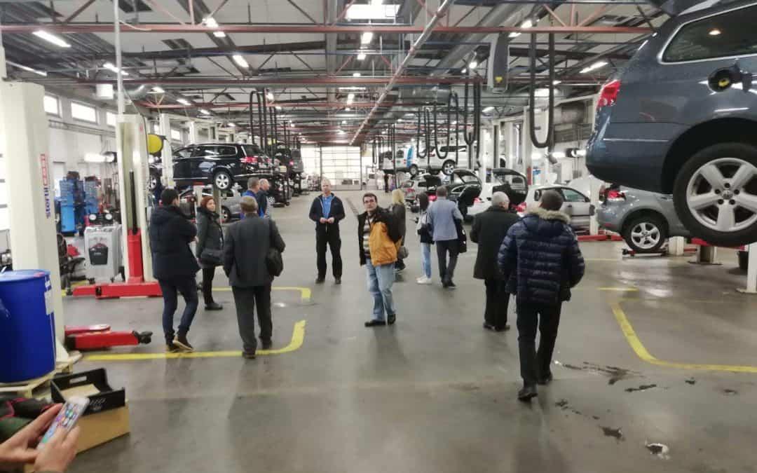 Calificarea la locul de muncă prin stagii de practică de calitate – domeniul mecanică