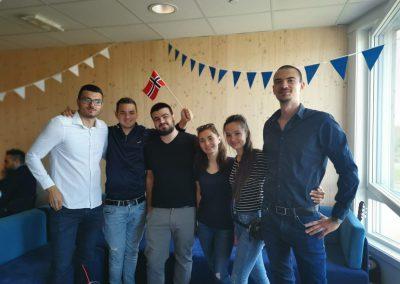 2017: Proiect de mobilitate SEE – SNSPA, București