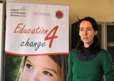 2018: Education 4 change – CJRAE Mureș